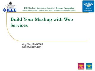 Build Your Mashup with Web Services