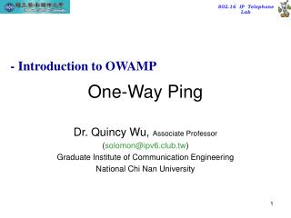 One-Way Ping
