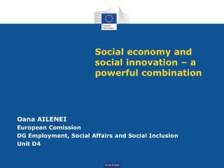Social economy and social innovation – a powerful combination