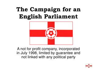 The Campaign for an English Parliament