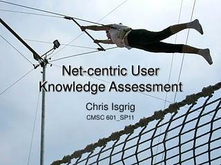 Net-centric User  Knowledge Assessment