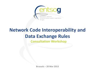 Network Code Interoperability and Data Exchange Rules