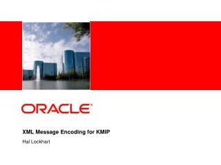 XML Message Encoding for KMIP