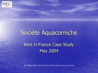 Société Aquacorniche