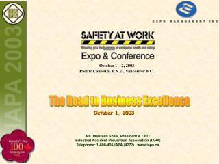 Consulting Services High Impact Solutions, Integrated Management System that imbed workplace organizational health  qual