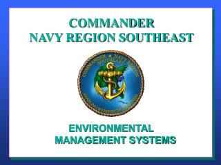 COMMANDER NAVY REGION SOUTHEAST