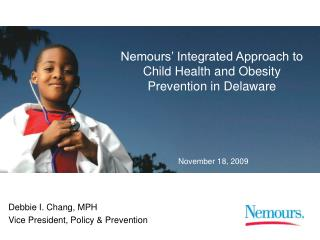 Nemours' Integrated Approach to Child Health and Obesity Prevention in Delaware
