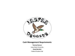 Cash Management Requirements