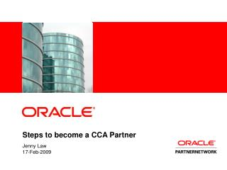 Steps to become a CCA Partner
