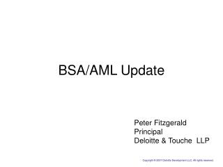 BSA/AML Update