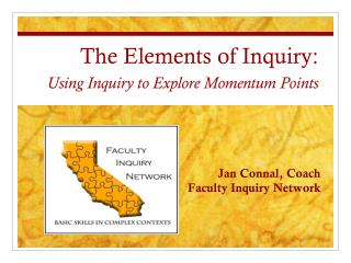 The Elements of Inquiry: Using Inquiry to Explore Momentum Points
