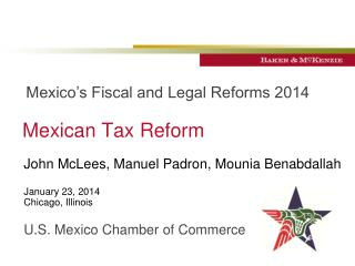 Mexican Tax Reform