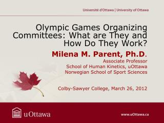 Olympic Games Organizing Committees: What are They and How Do They Work?