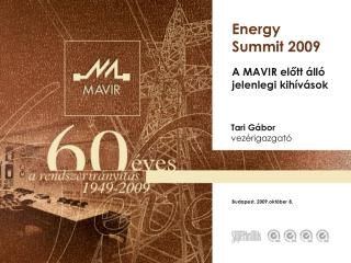 Energy Summit 2009