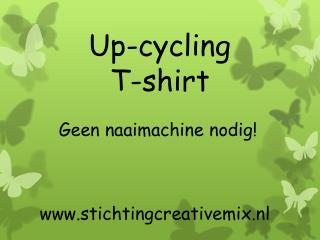 Up- cycling T-shirt
