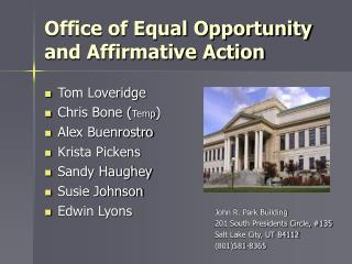 Office of Equal Opportunity and Affirmative Action