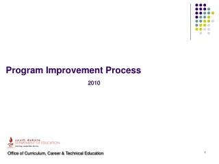 Program Improvement Process