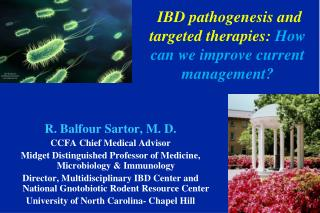 IBD pathogenesis and targeted therapies:  How can we improve current management?