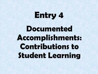 Entry 4