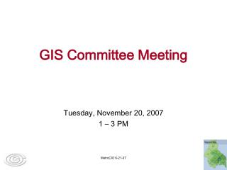 GIS Committee Meeting