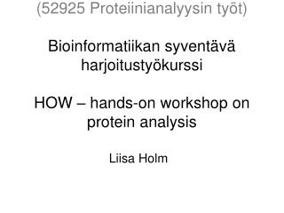 Liisa Holm