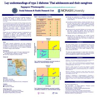 Lay understandings of type 2 diabetes: Thai adolescents and their caregivers