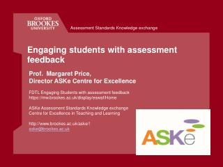 Engaging students with assessment feedback