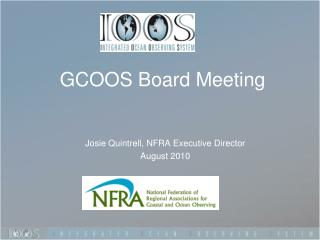 GCOOS Board Meeting