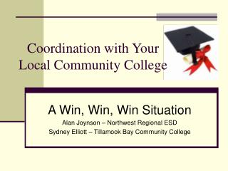 Coordination with Your Local Community College