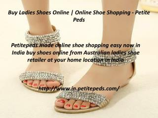Buy Shoes Online with our Online Shoe Shopping Portal - Peti