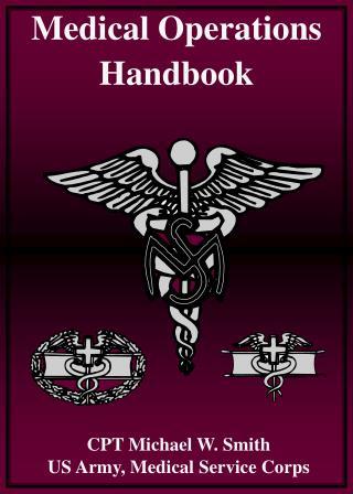 Medical Operations Handbook