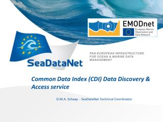 Common Data Index (CDI) Data Discovery & Access service