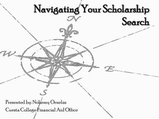 Navigating Your Scholarship Search