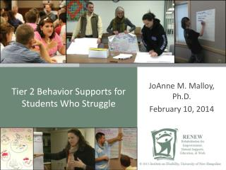 Tier 2 Behavior Supports for Students Who Struggle