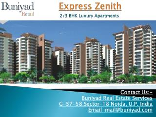Express Zenith in Sector 77 Noida by Express Group
