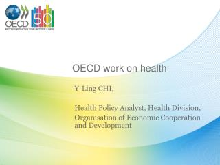 OECD work on health