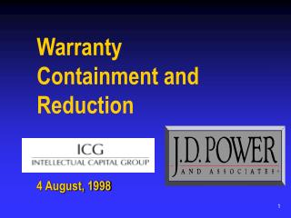 Warranty Containment and Reduction
