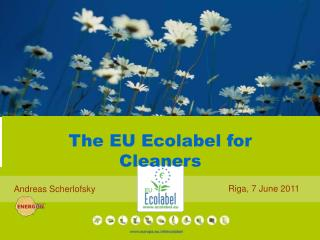 The EU Ecolabel for Cleaners