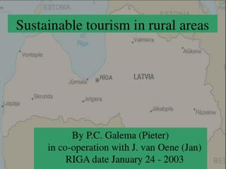 Sustainable tourism in rural areas