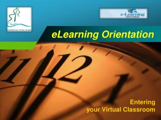 eLearning Orientation