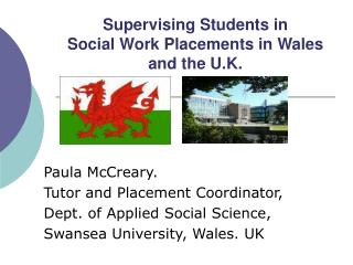 Supervising Students in Social Work Placements in Wales and the U.K.