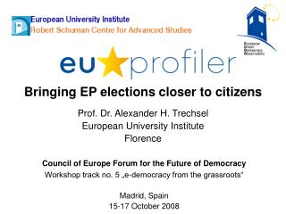 Bringing EP elections closer to citizens