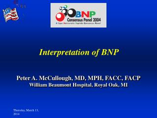 Interpretation of BNP