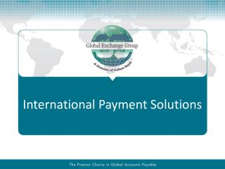 International Payment Solutions