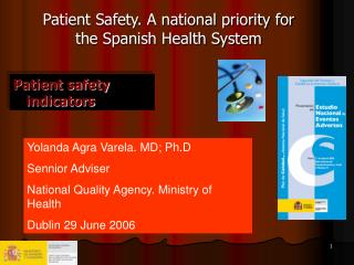 Patient safety indicators
