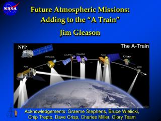 "Future Atmospheric Missions: Adding to the ""A Train"" Jim Gleason"