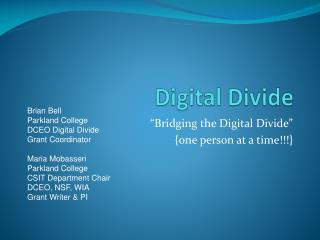Digital Divide