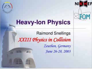 Heavy-Ion Physics