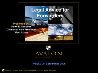 Legal Advice for Forwarders