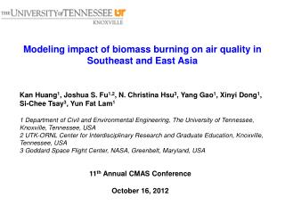 Modeling impact of biomass burning on  air quality in Southeast and East Asia